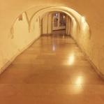 mariastein hallway chapel