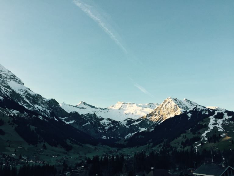 adelboden valley mountains