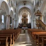 basilica mariastein interior