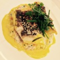 turbot filet coconut risotto