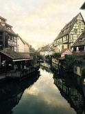colmar timbered houses